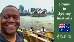 6 Days in Sydney Australia