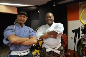 Tokyo Japan Samurai Armor Photo Shoot