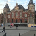 Amsterdam Centraal Station is the largest rail station in Amsterdam