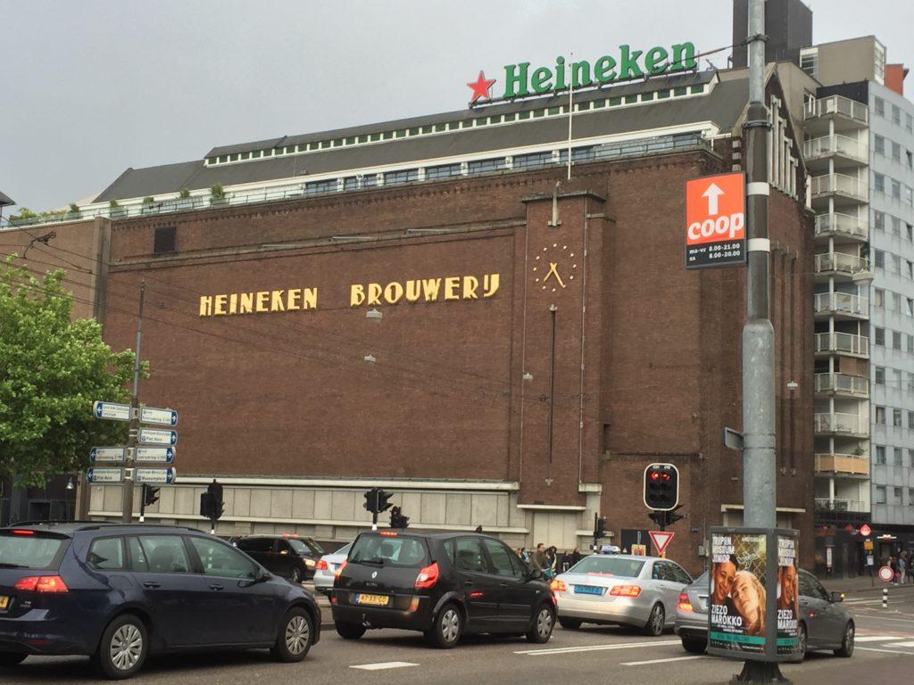 The Heineken Brewery tour is a popular attraction in Amsterdam