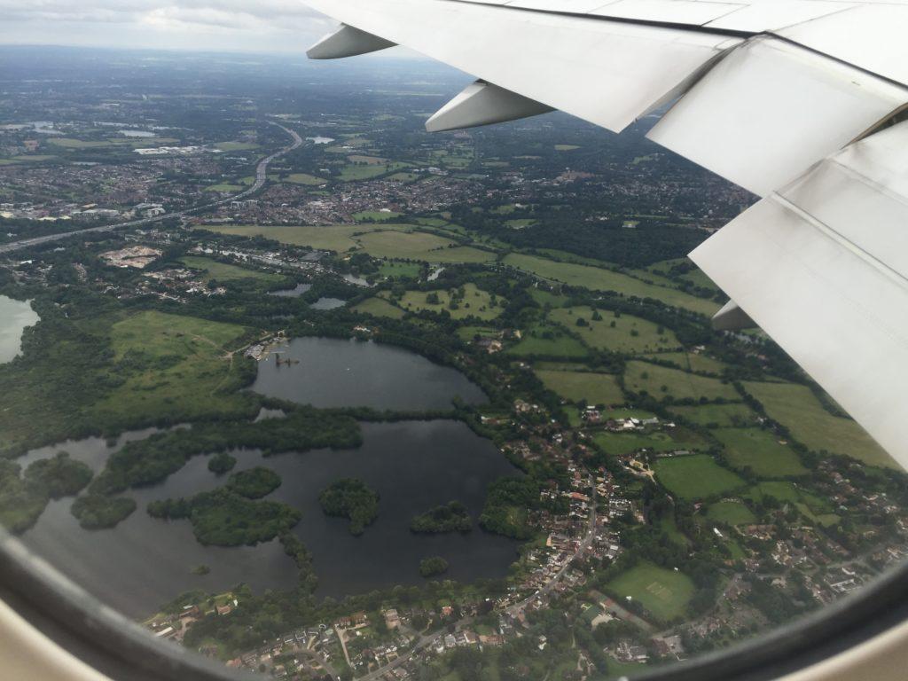 Leaving Heathrow Airport