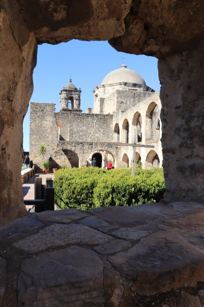 A view of the Chapel at Mission San Jose