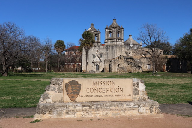Photo of Mission Concepcion in San Antonio Texas