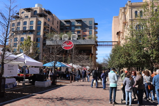 The Farmers Market at Pearl Brewery in San Antonio