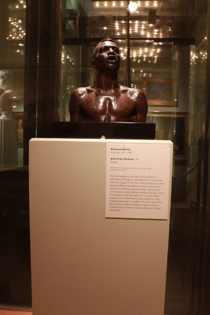 """Birth of the Spirituals"", sculpture by American artist Richmond Barthé"